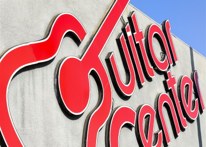 The Guitar Center - Hollywood